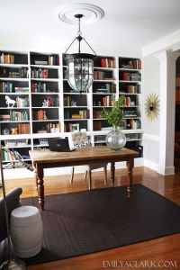 25+ best ideas about Office bookshelves on Pinterest