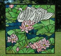 72 best Stain Glass Birds (SWANS) images on Pinterest ...