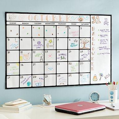 17 Best Ideas About Large Wall Calendar On Pinterest