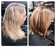 blonde bronde medium lob