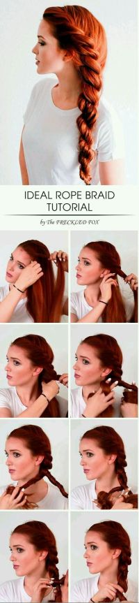 Best 25+ Medium Hair Tutorials ideas on Pinterest