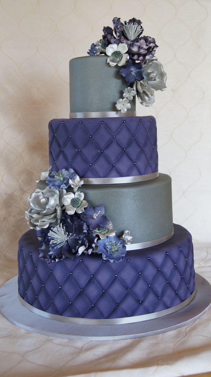 25 best Purple and silver wedding ideas on Pinterest