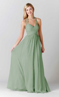 Sage Bridesmaid Dresses - Wedding Dresses Asian