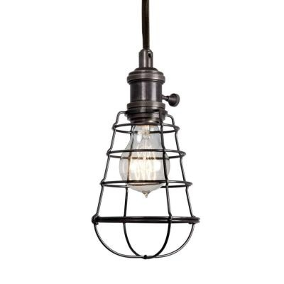 Home Decorators Collection 1-Light Aged Bronze Cage