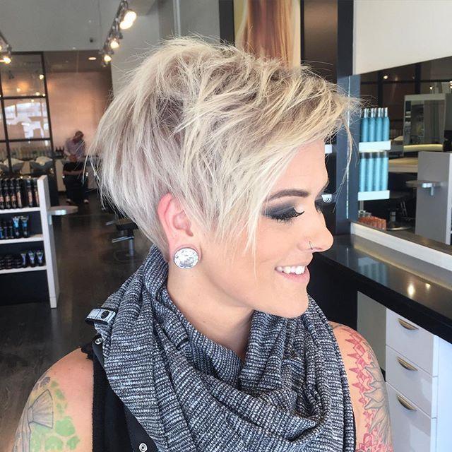 Best 25 Platinum Pixie Cut Ideas On Pinterest Pixie Haircut