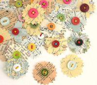 25+ Best Ideas about Scrapbook Paper Flowers on Pinterest