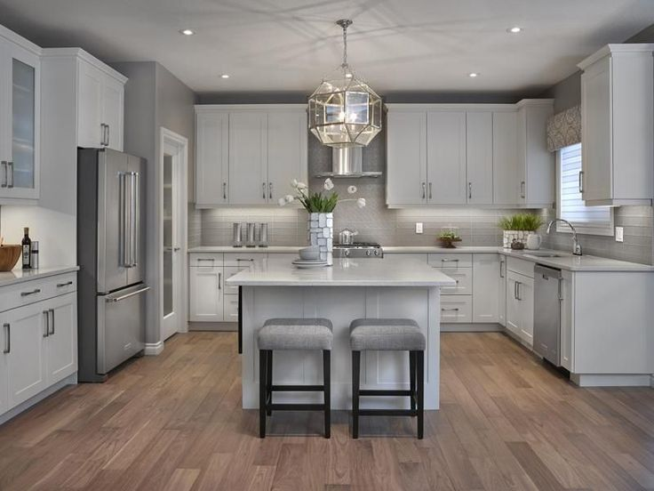 17 Best ideas about Grey Kitchens on Pinterest