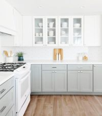 25+ best ideas about Two toned kitchen on Pinterest