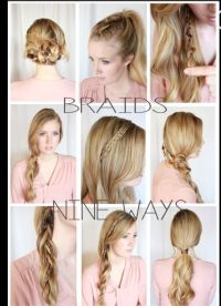 Different ways to do your hair | Hair | Pinterest | My ...