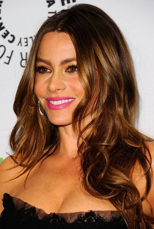 25 Best Ideas About Celebrity Long Hairstyles On Pinterest Side