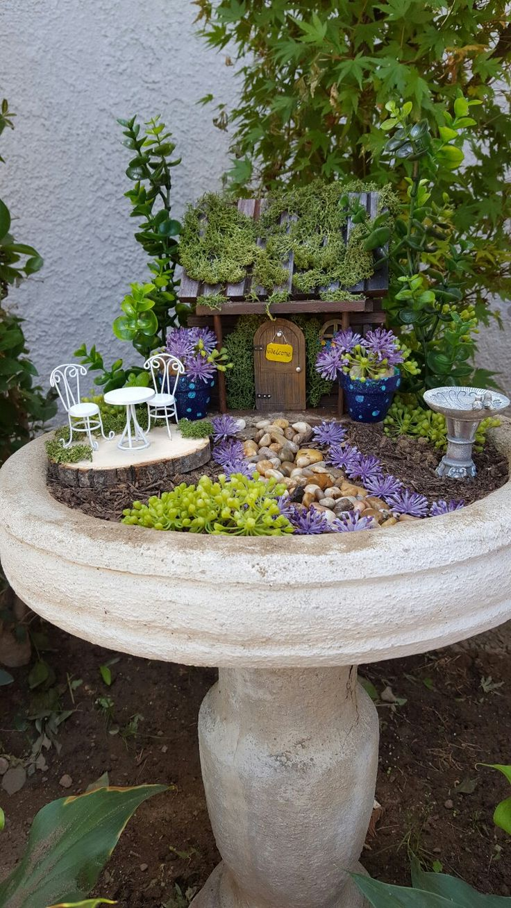 25 Best Ideas About Bird Bath Garden On Pinterest Succulent