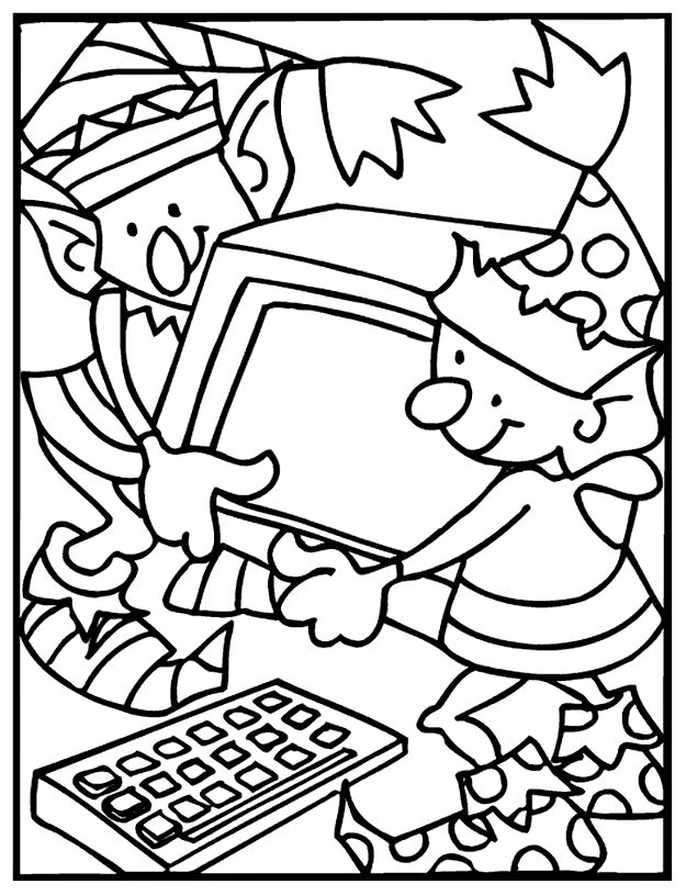 1000+ images about holiday coloring pages on Pinterest