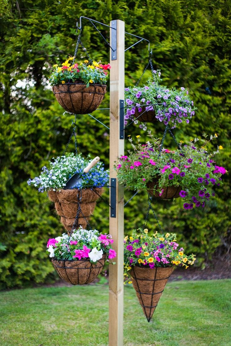 10 Best Ideas About Hanging Baskets On Pinterest Hanging Basket
