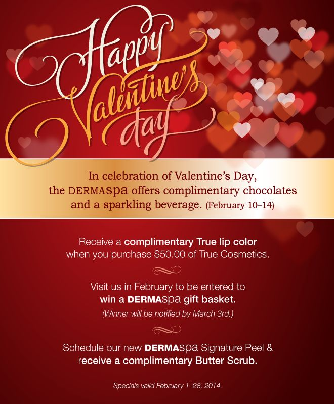 Love Your Skin Again At DERMAspa Valentines Promotion