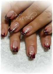 christmas nails beautiful
