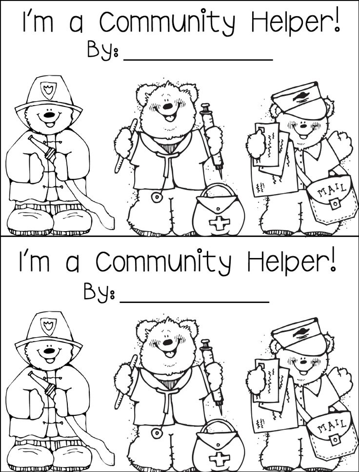 208 best images about Preschool Community Helpers Crafts