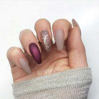 25+ best ideas about Burgundy Matte Nails on Pinterest ...