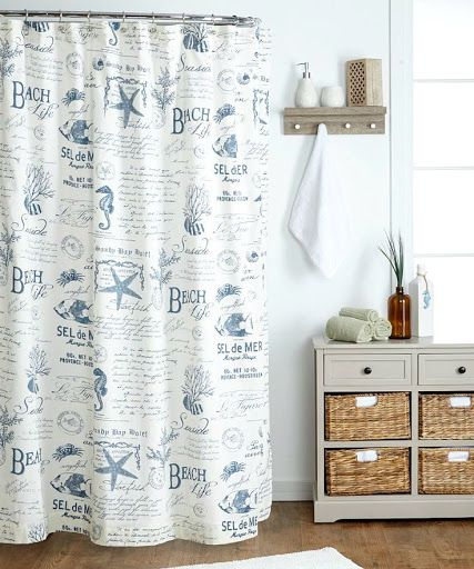 25 Best Ideas About Beach Shower Curtains On Pinterest Shower