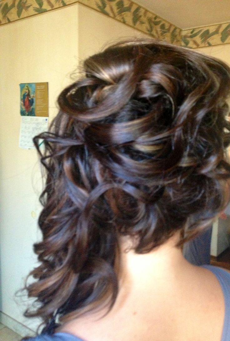 Les 24 Meilleures Images à Propos De Bridesmaid Hair Do's Sur