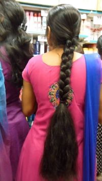 Indian Long Hair Braid | Indian Long Hair Braid 2 ...