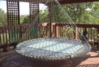outdoor or indoor rigid hammock or hanging couch
