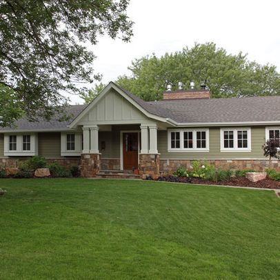 25 Best Ideas About Ranch Homes Exterior On Pinterest Ranch