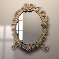 vintage mirror 3d model - vintage mirror by american eagle ...