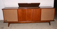Penncrest vintage record player console