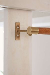 25+ best ideas about Wooden curtain rods on Pinterest ...