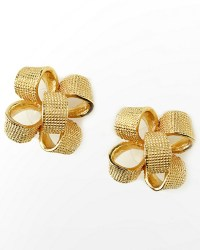 Lilly Pulitzer gold bow earrings | Jewelry and Accesories ...