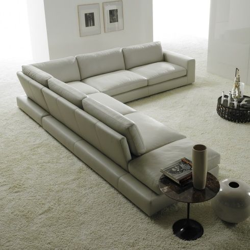 grey sectional living room ideas round sofa set 25+ best about leather corner on pinterest ...