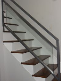 Updating Stairs and Railings in a Split Level Home   Wood ...