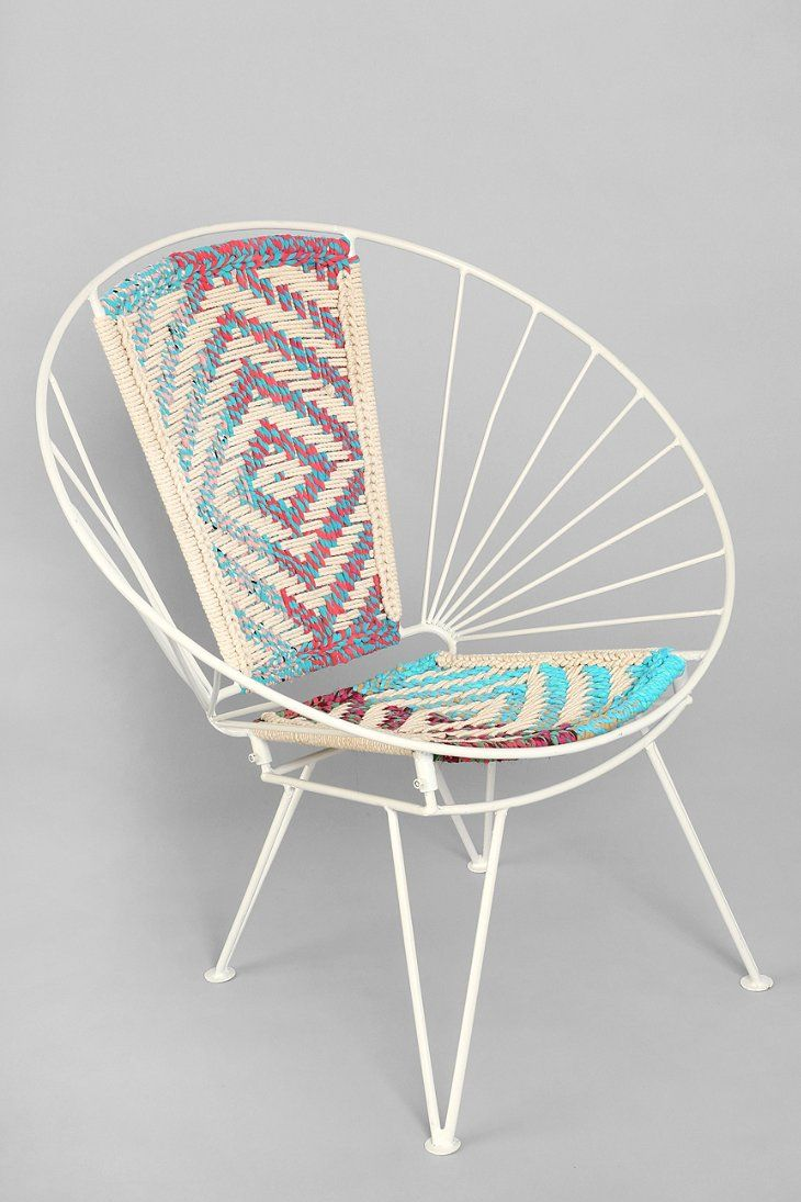 Magical Thinking Woven Wire Chair  Wire Chair Magical