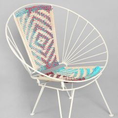 Metal Adirondack Chairs Folding Gaming Chair Magical Thinking Woven Wire | Urban Outfitters, Backyards And Front Porches