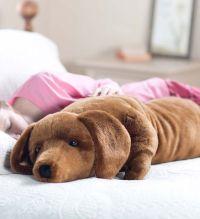 Dachshund Body Pillow- basically my dog minus the barking ...