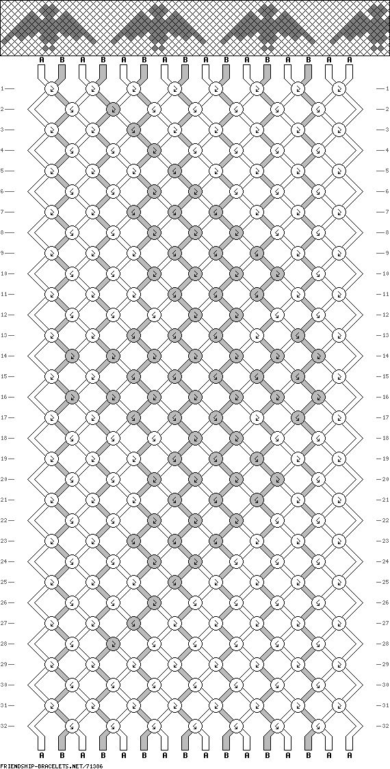 443 best images about Friendship Bracelet Patterns (Hard
