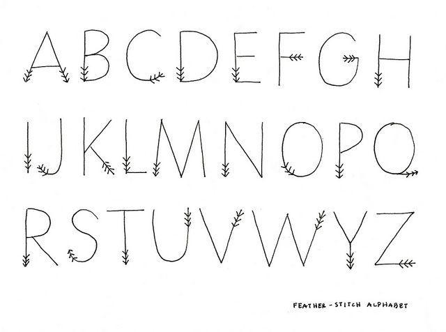 25+ best ideas about Fancy Fonts Alphabet on Pinterest
