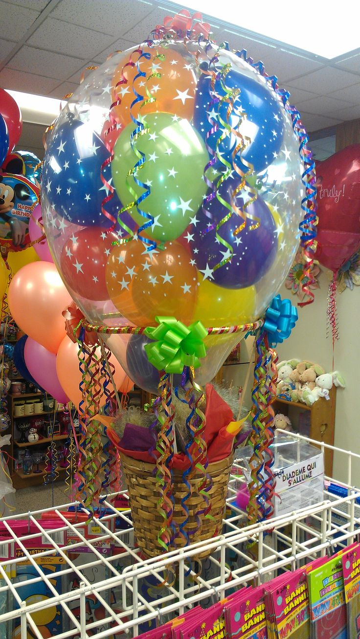 Mini Hot Air Basket Balloon Decorations And Events