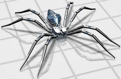 Insect 3Ds Max Model: Mechanical Spider Model 3D Model