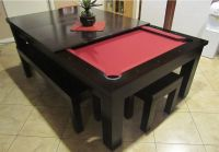 Moderna Pool Table Convertible Dining Table - Use J/K to ...