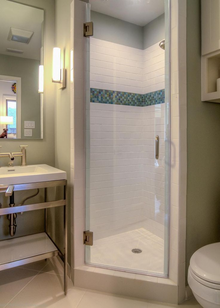 25 best ideas about Corner showers on Pinterest  Small bathroom showers Transitional shower