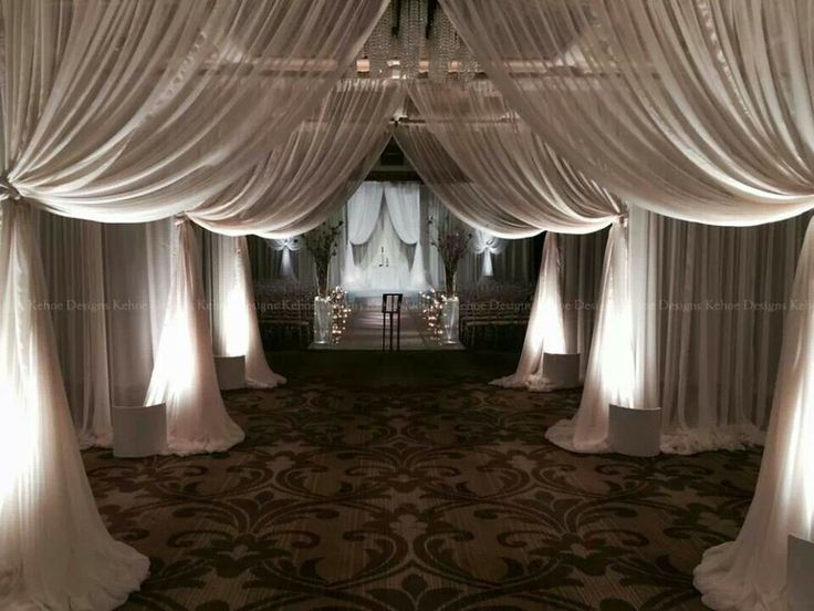 1000 images about Receptions  Draping on Pinterest