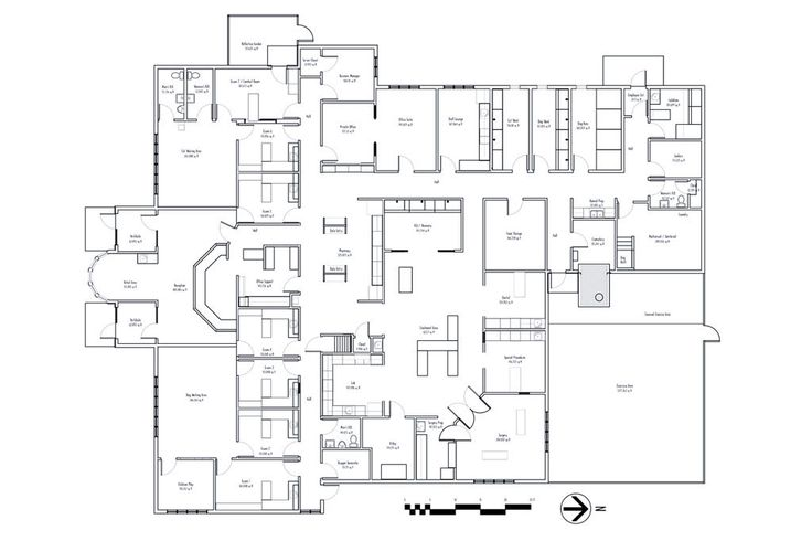 1000+ images about Floor plans: Veterinary hospital design