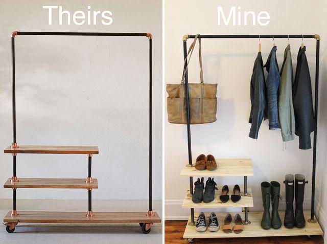 25+ best Clothing racks ideas on Pinterest