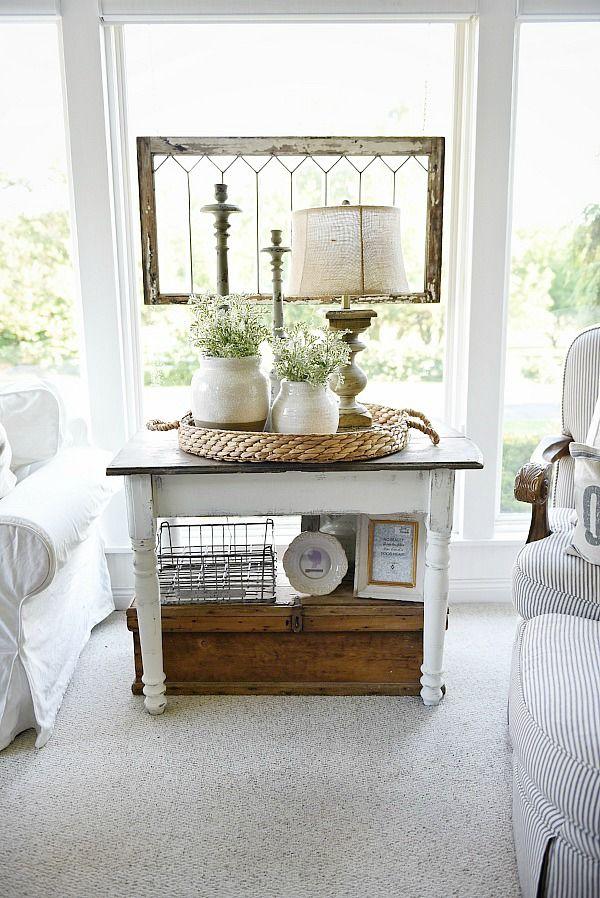 25 best ideas about Side Table Decor on Pinterest  Side