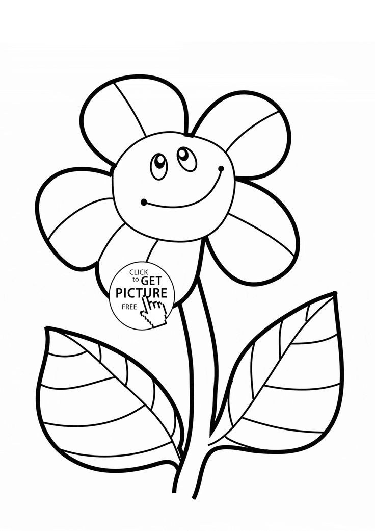 29 best images about Flowers coloring pages on Pinterest