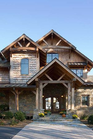 1000 ideas about Rustic Exterior on Pinterest