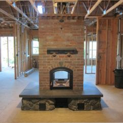 Living Room Designs With Wood Stove Light Blue Rug 1000+ Images About Masonry Fireplace On Pinterest ...