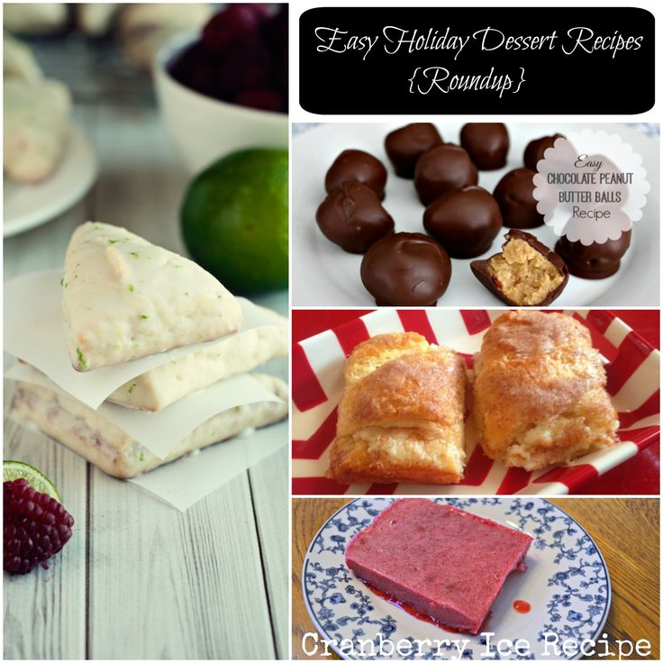 Types Holiday Cakes