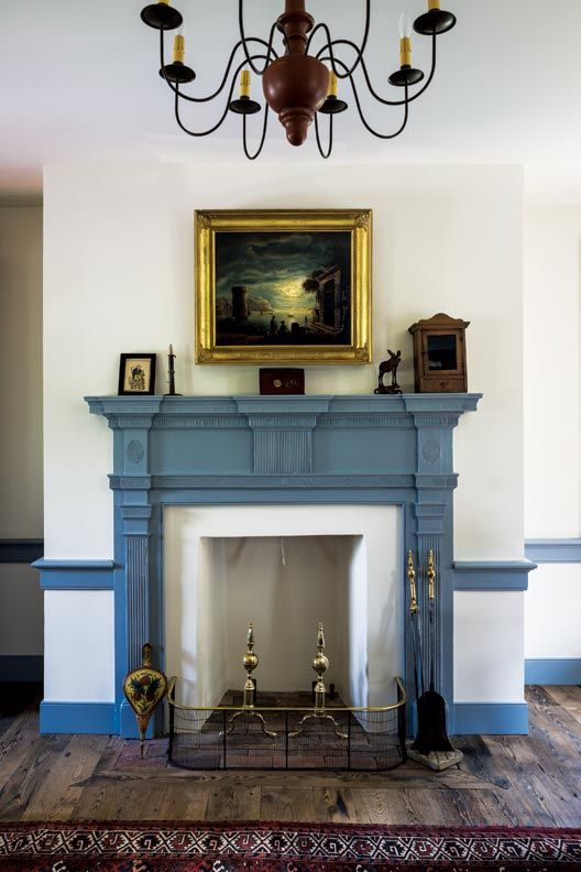 Anatomy of a Historic Fireplace  Posts Fireplaces and